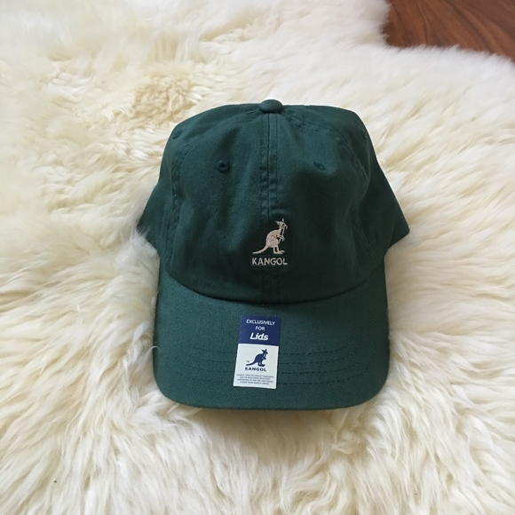 b34de15acaf NWT Exclusive Kangol Dark Green Baseball Dad Hat